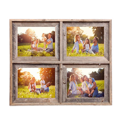 Rustic Farmhouse Signature Collage Frame | 4 Opening