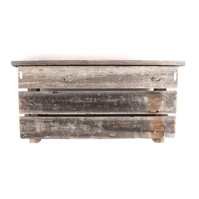 Rustic Farmhouse Wood Shelf with Hooks