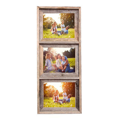 Rustic Farmhouse Signature Collage Frame | 3 Opening