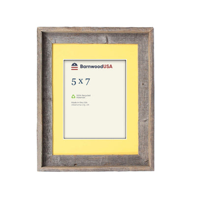 Rustic Signature Picture Frame with Buttercup Mat