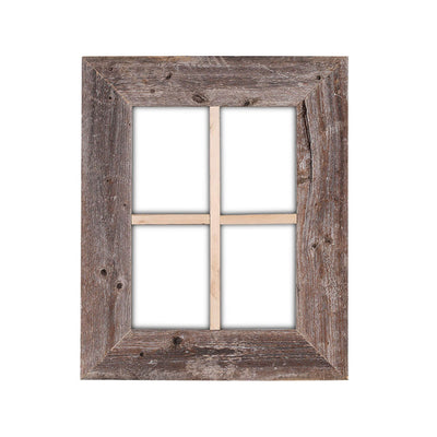 Rustic Farmhouse Wood Window Frame