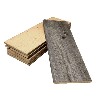 Thin Reclaimed Wood Bundle for DIY Projects