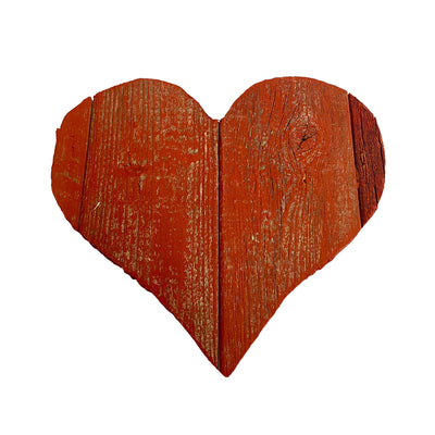 Rustic Farmhouse Wood Heart | Valentines