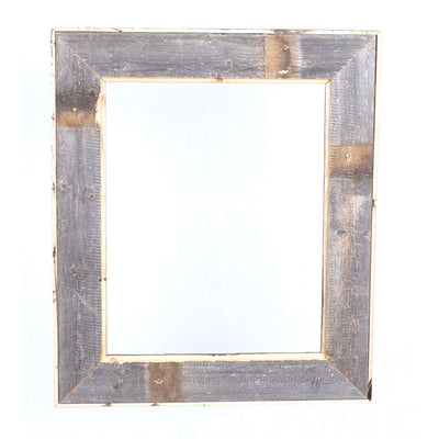 Rustic Farmhouse Open Artisan Picture Frame | White Wash