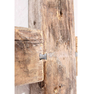 Rustic Farmhouse Old Wooden Cross