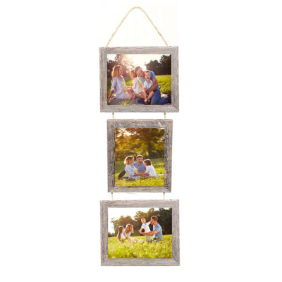 Rustic Farmhouse 1 1/2 inch Picture Frame with Jute Rope