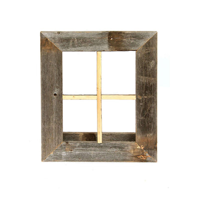 Rustic Farmhouse Window Planter Frame