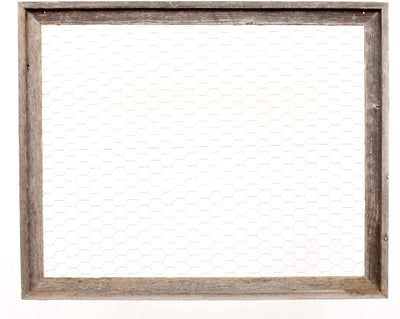 Cabinet window styled message board jewelry organizer