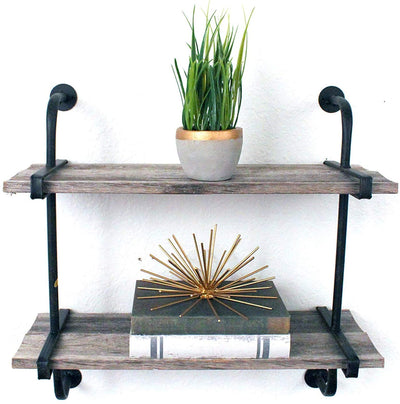 BarnwoodUSA Rustic Wooden Shelf