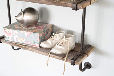 BarnwoodUSA Rustic Wooden Shelf Heavy Duty