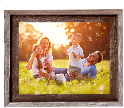 Wooden family picture holding frame