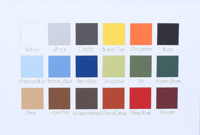 all colors for 5x7 Inch Signature Picture Frame for 2 Photos