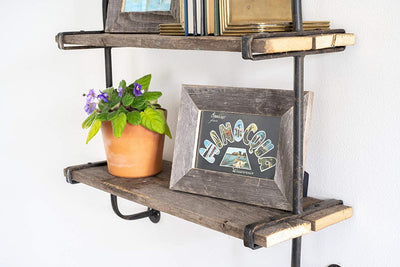 BarnwoodUSA Rustic Wooden Shelf Stling Ideas