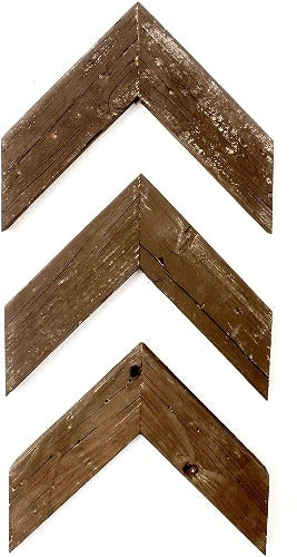 Deluxe Rustic Decorative Chevron Arrows
