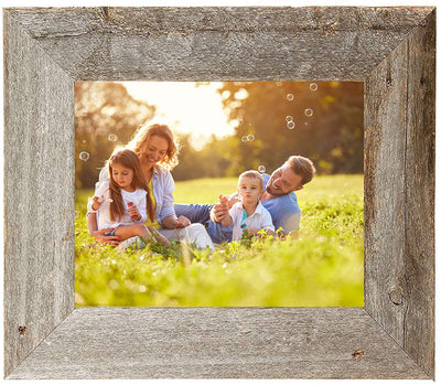 BarnwoodUSA Rustic 3 Inch Wide wooden photo frame