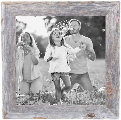 BarnwoodUSA Rustic 10 by 10 Inch Picture Frame farmhouse decor