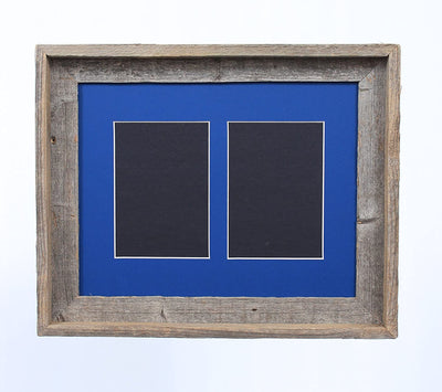 Bottle Blue 5x7 Inch Signature Picture Frame for 2 Photos