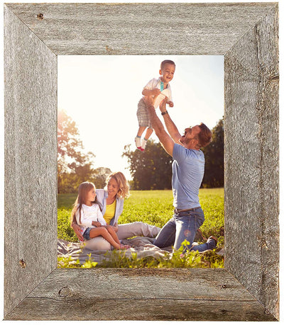 BarnwoodUSA Rustic 3 Inch Wide wooden frame