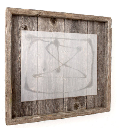 Rustic Farmhouse Plank Picture Frame