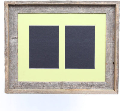 Pistachio 5x7 Inch Signature Picture Frame for 2 Photos
