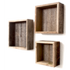 Deluxe Rustic Farmhouse Floating Box Shelves