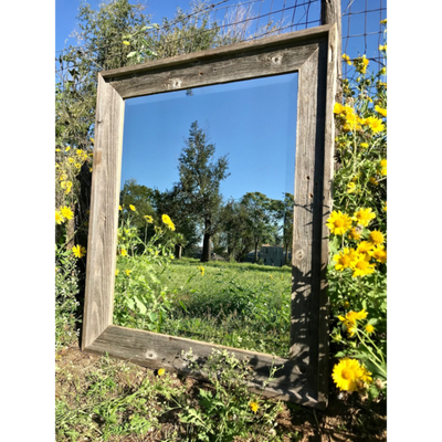 Rustic Farmhouse Beveled Mirrors