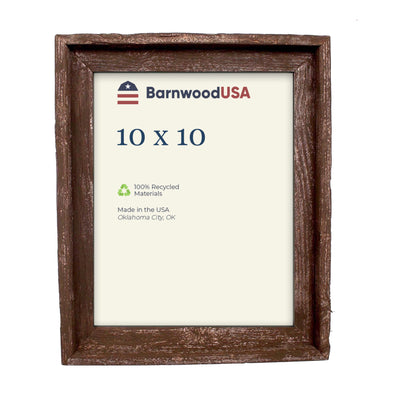 Rustic Farmhouse Signature Picture Frame | Espresso