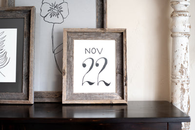 Rustic Farmhouse Signature Picture Frame