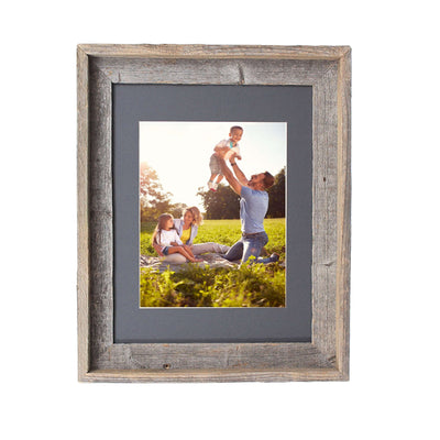 Rustic Signature Picture Frame with Cinder Mat