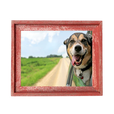Rustic Farmhouse Signature Picture Frame | Rustic Red