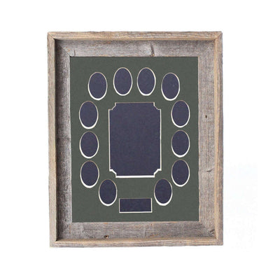 Rustic Farmhouse School Years Matted Picture Frame | 11x14