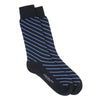 Navy/Blue Diagonal Stripe