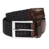 Navy & Dark Green Woven Belt