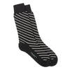 Black Charcoal Diagonal Stripes