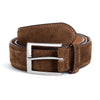 Mid Brown Suede Belt