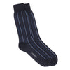 Navy Blue Multi Vertical Stripes