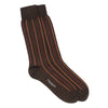 Brown Multi Vertical Stripes