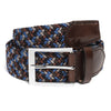 Multi Color Woven Belt