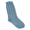 Lt. Blue Multi Vertical stripes