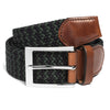 Navy & Forest Green Woven Belt