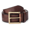 MEDIUM BROWN CASUAL BELT