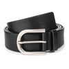 BLACK OVAL BUCKLE
