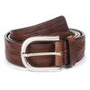 INCISED CALF JEANS BELT