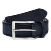 Navy Aero Suede Belt