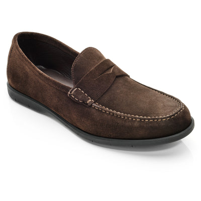 Tribeca Dark Brown Suede