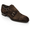 Tarver Dark Brown Suede