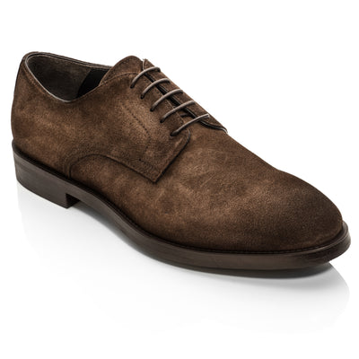Atkins Dark Brown Suede