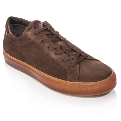 Marino Dark Brown Suede