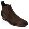 Shelby Dark Brown Suede