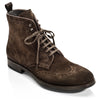 Boerum Dark Brown Suede